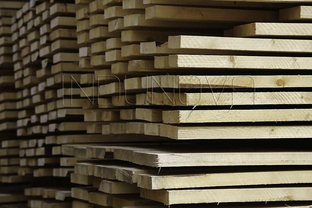 Limpieza criogénica sector madera