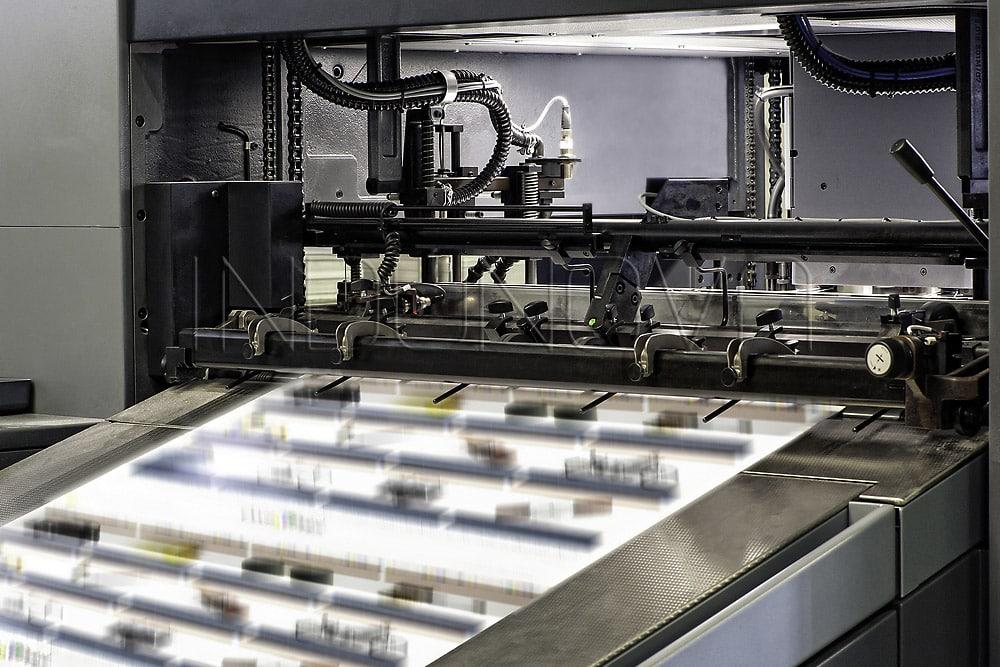 Limpieza criogénica en industria gráfica