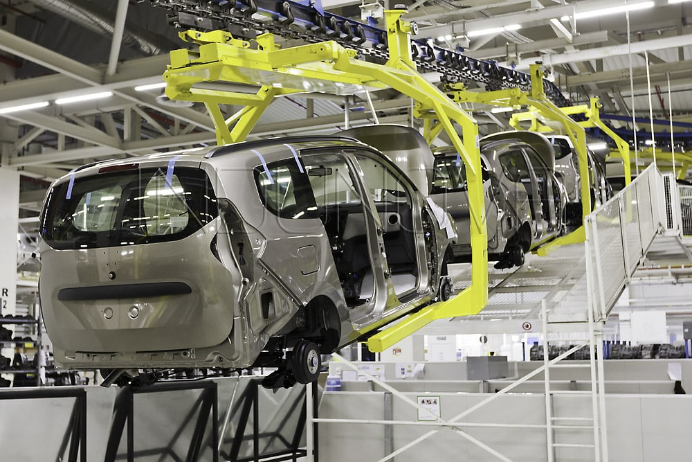 Limpieza criogénica sector automóvil