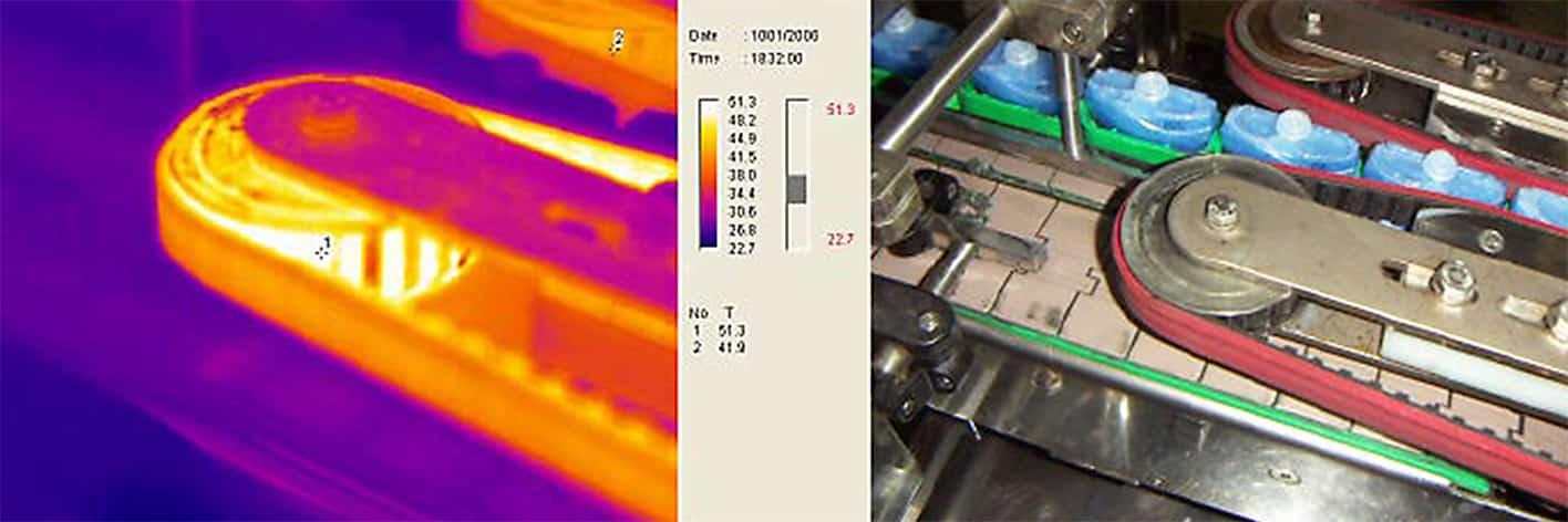 Termograma en líneas de producción