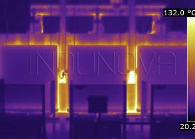Termografía fugas térmicas horno industrial 2