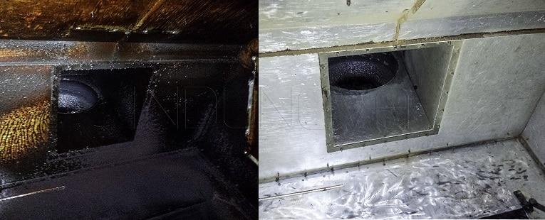 Limpieza criogénica en hornos industriales