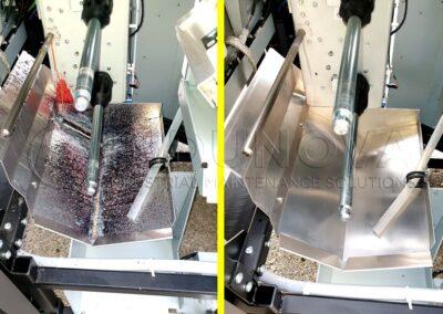 Limpieza criogénica en maquianria industrial