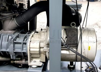 Limpieza criogénica en maquinaria industrial