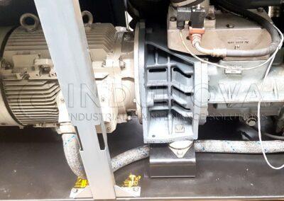 Limpieza criogénica en interior de compresores de aire