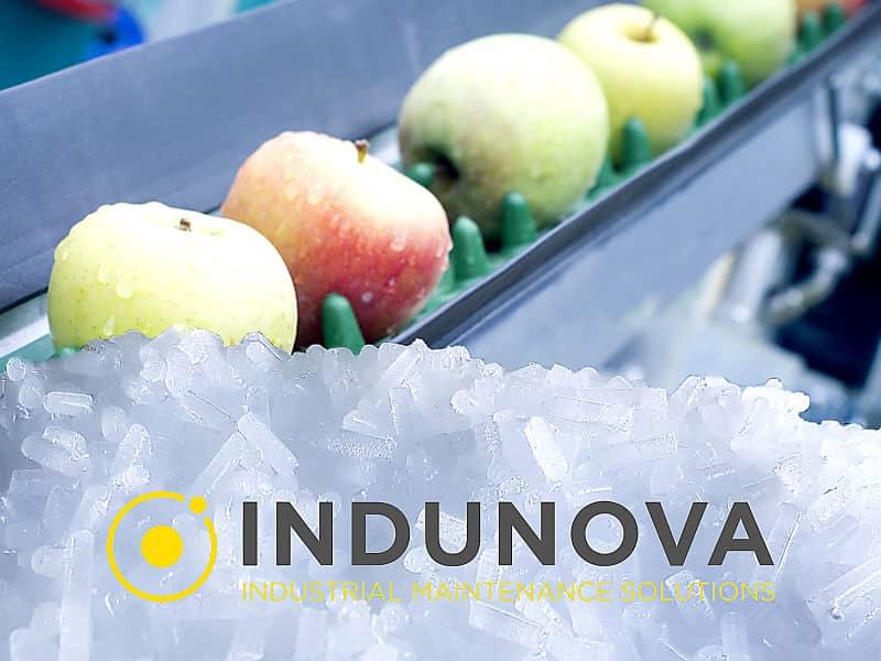 Limpieza criogénica en la industria alimentaria